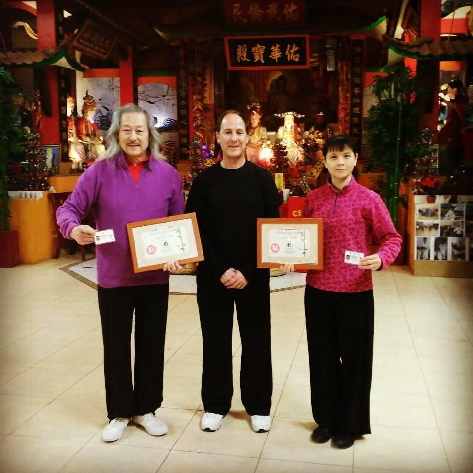 Zhang Xiumu y XinHong Lai | Miembros de Honor Yùyán