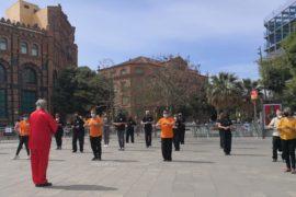 Sol y TaiChí en Barcelona. Vislumbrando la normalidad