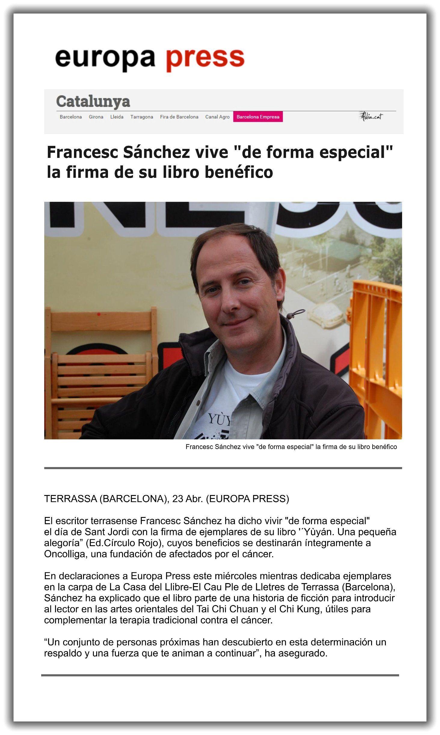 Yùyán   Prensa   Europa Press