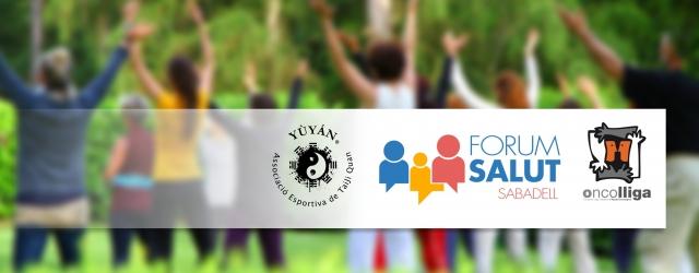 Forum de la Salut 2017. Yùyán con la Fundación Oncolliga