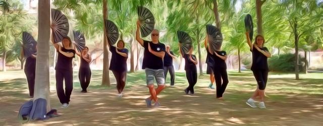 Taller de verano, de TaiChi …y de ocasiones !