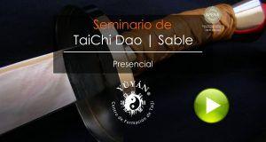Talleres, Cursos y Seminarios de TaiJi Dao. Sable de TaiChi