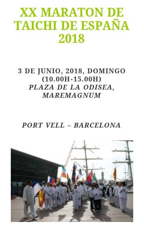 XX Maratón de TaiChi de España - Yùyán