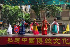 Cultura Manchú, TaiChí y Sol en Barcelona