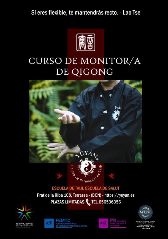 Curso presencial de QiGong en Terrassa